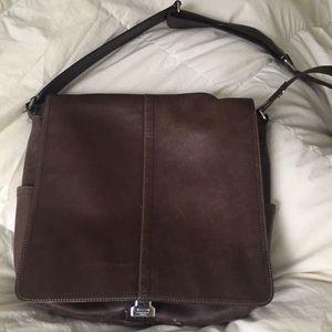 Coach Letter carrier shoulder bag